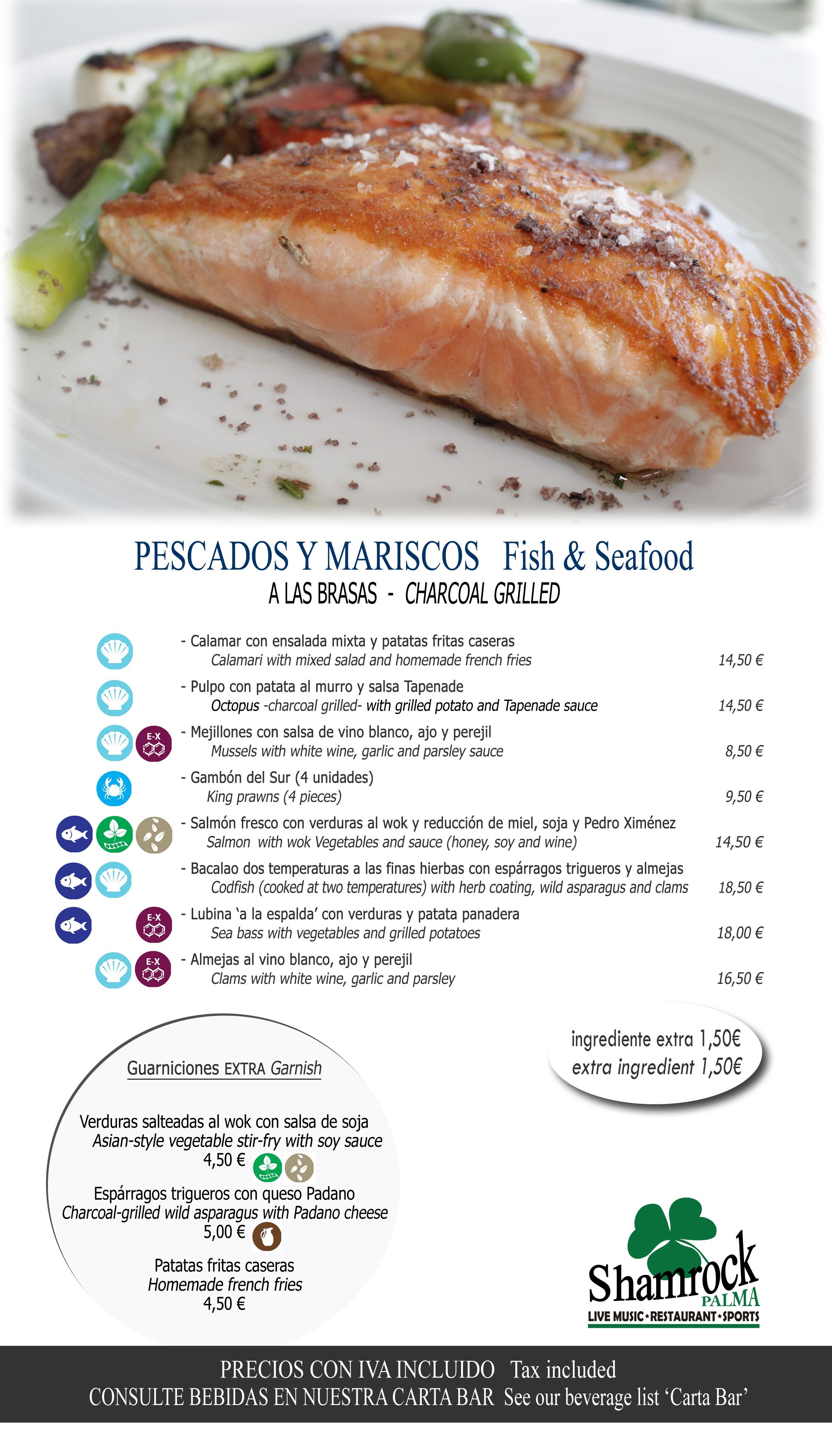 6 grill pescados 35x20cm