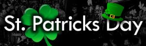 banner st patricks day