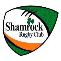 logo shamrock rugby color