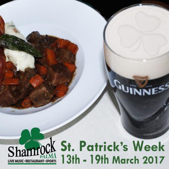 St. Patrick's Week en Shamrock Palma